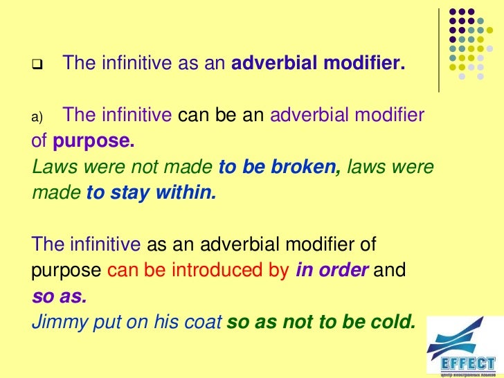 Adverb Modifiers Examples Images Example Cover Letter For Resume