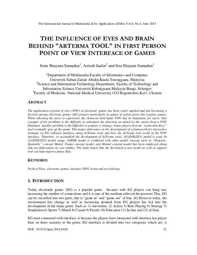 The International Journal of Multimedia & Its Applications (IJMA) Vol.6, No.3, June 2014 DOI : 10.5121/ijma.2014.6302 21 T...