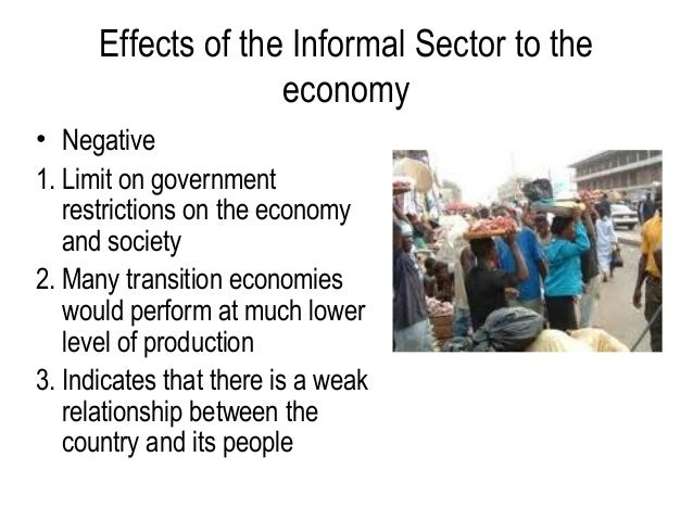 Impact of the informal economy on the labour market