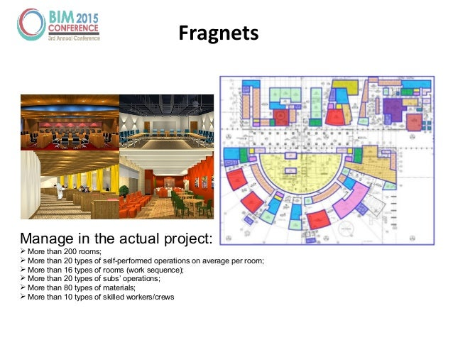 Fragnets Manage in the actual project:  More than 200 rooms;  More than 20 types of self-performed operations on average...