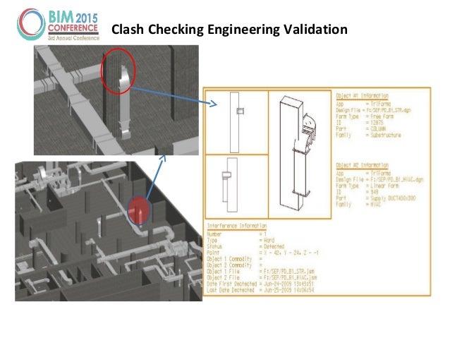 Clash Checking Engineering Validation