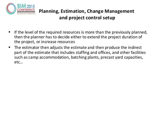 • If the level of the required resources is more than the previously planned, then the planner has to decide either to ext...