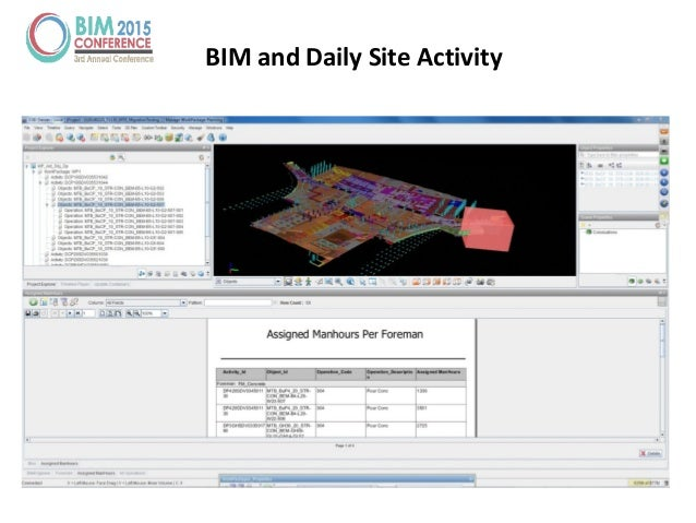 BIM and Daily Site Activity