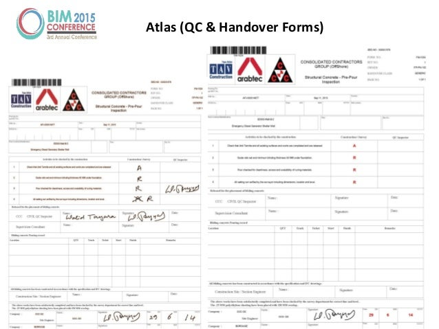 Tuesday, March 10, 2015 Your Nam Here 65 Atlas (QC & Handover Forms)