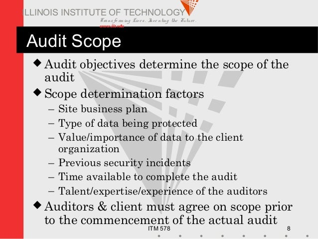 Security Audits - Essay Example