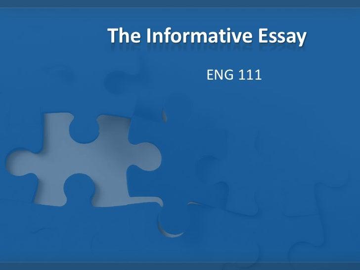 Informative essay video games
