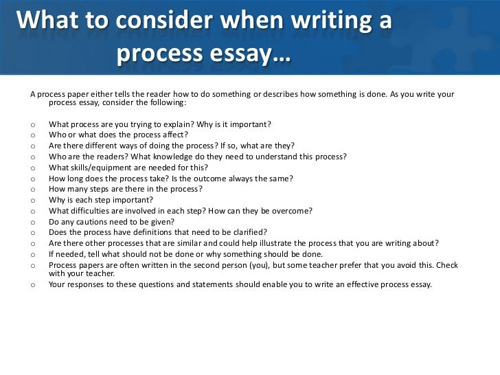 what are the two types of process analysis essays There are two major types of in an argumentative essay, the thesis statement but it is also important to avoid hindering the writing process by.
