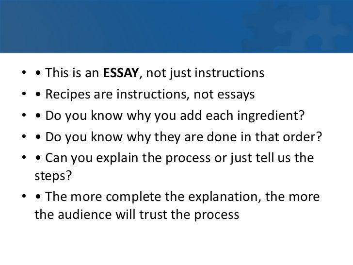 the informative essay 8