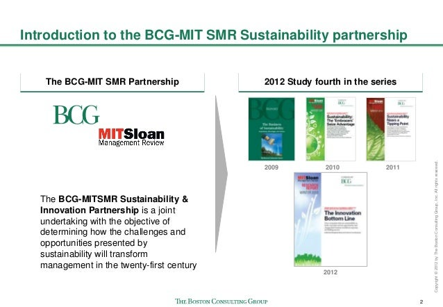 The Innovation Bottom Line: How Sustainability is Paying Off Slide 3