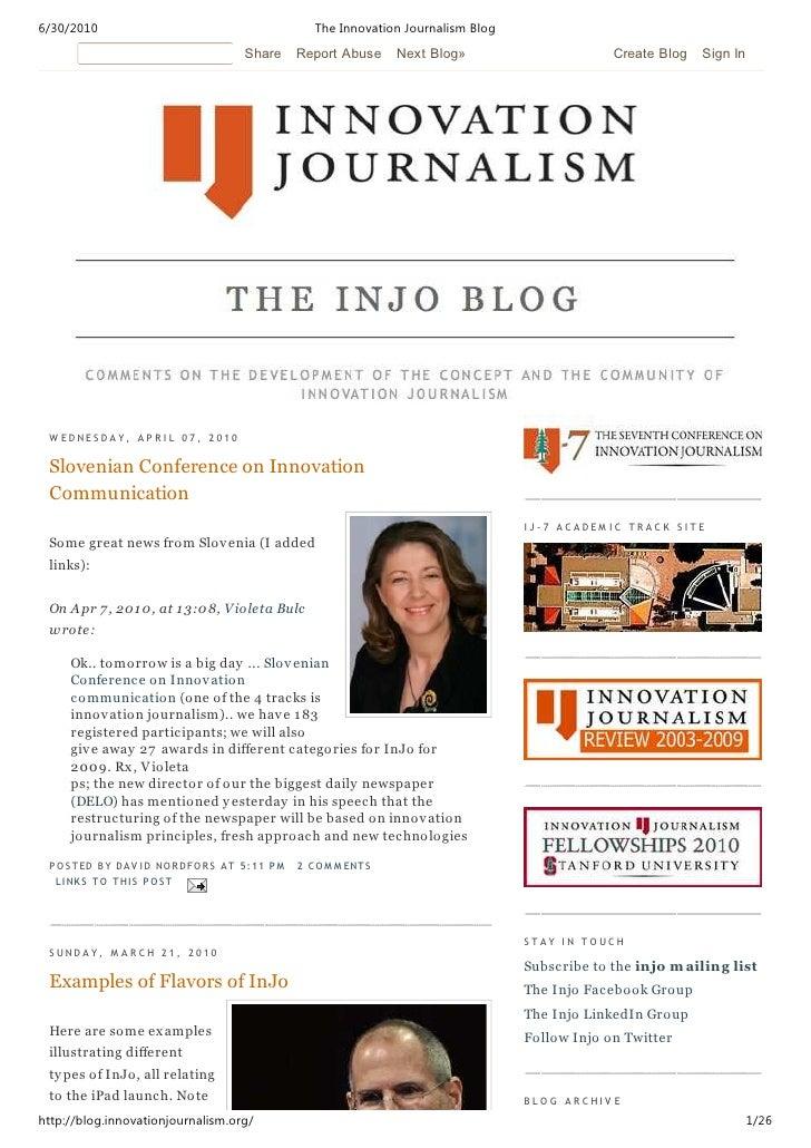 6/30/2010                                                The Innovation Journalism Blog                                   ...