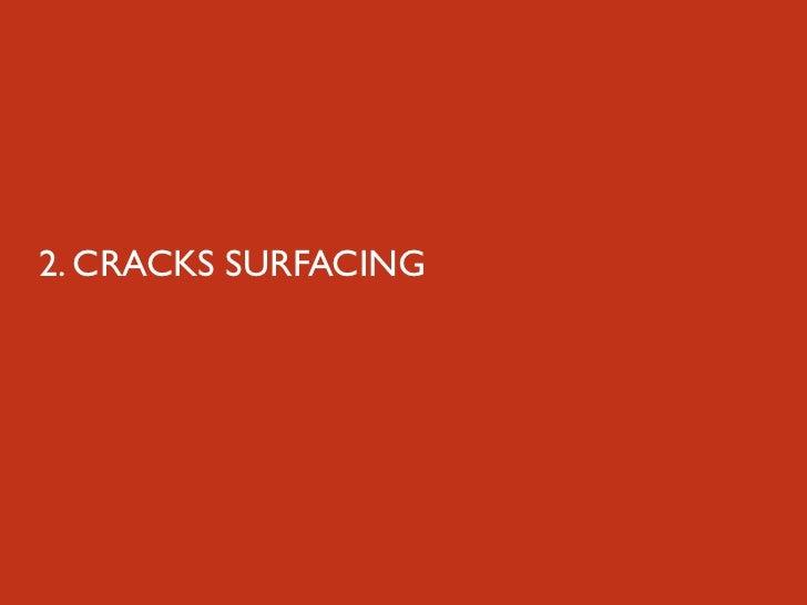 2. CRACKS SURFACING