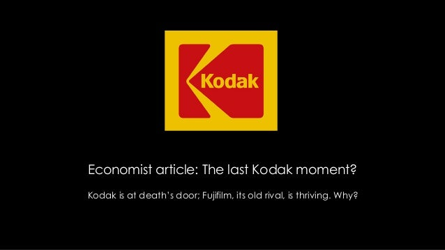 End of an era: Kodak discontinues camera business
