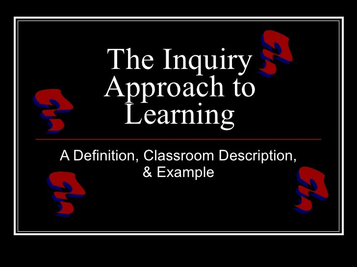 the inquiry pcess What is appreciative inquiry understanding ai to understand ai at its fundamental level the process is both personally and organizationally invigorating.