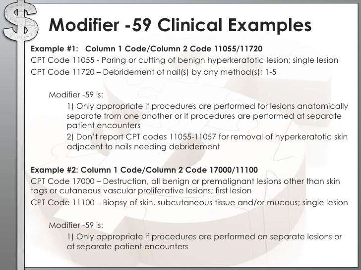 modifiers with examples