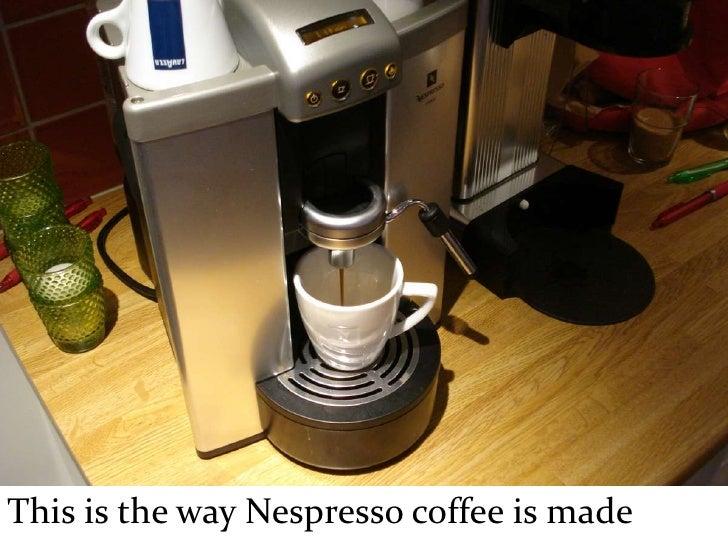 The Inside Of Nespresso Capsules