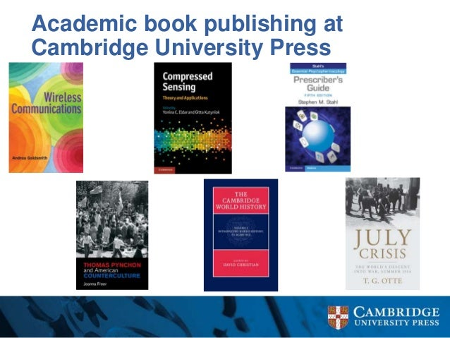 List of Cambridge University Press book series - Wikipedia