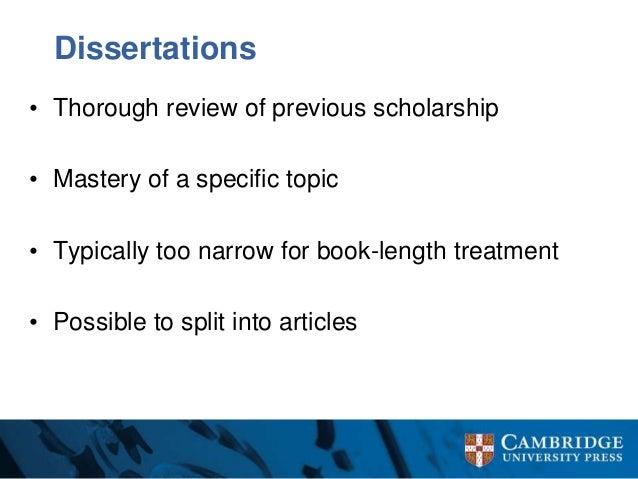 Cambridge university thesis library