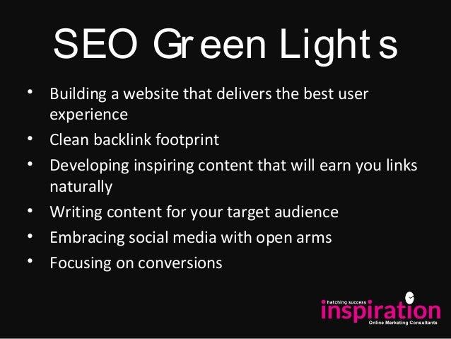 Digital Marketing Guide 2014: Part 1 SEO Red & Green Lights