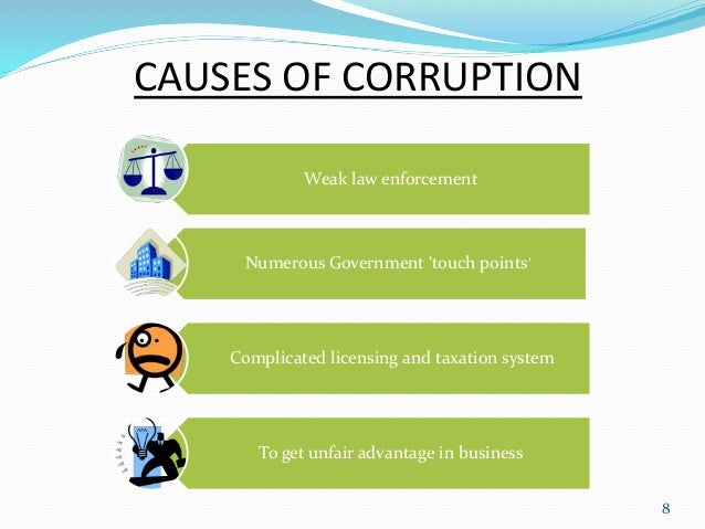 Essay on corruption causes and remedies