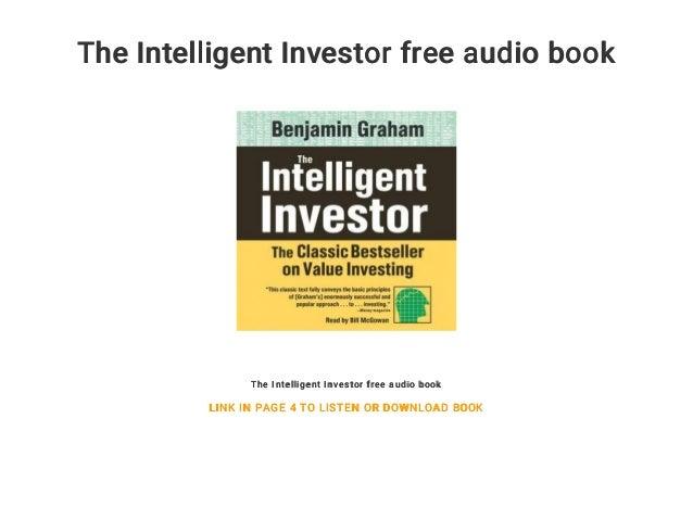 The Intelligent Investor Free Audio Book