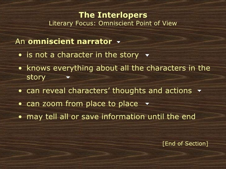the interlopers ulrich von gradwitz In saki's short story, the interlopers, the feud over the disputed land continues because, although the grandfather of ulrich von gradwitz had won the lawsuit, the.