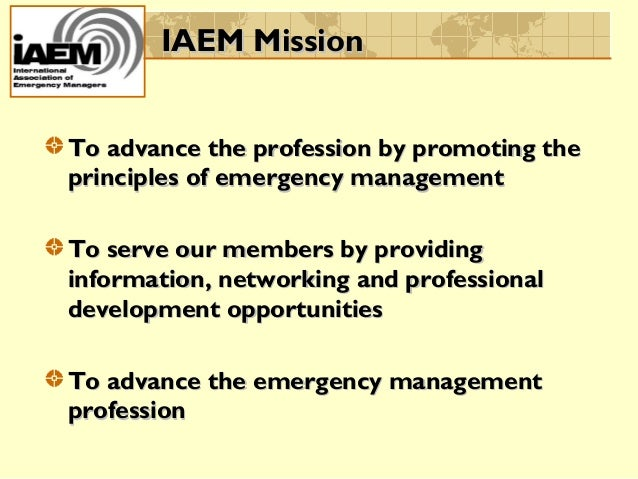how to become an emergency manager