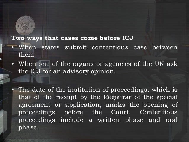 objectives of international court of justice