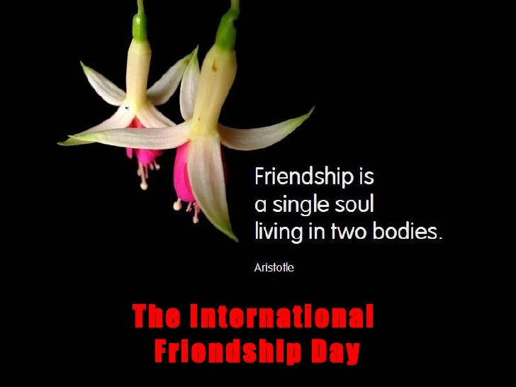 The International  Friendship Day