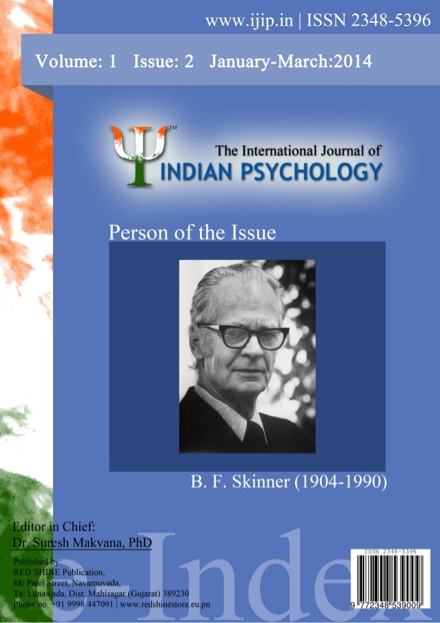 The international journal of indian psychology- volume 1 issue-2