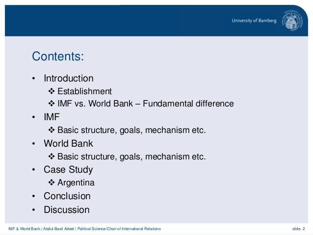 an essay on the international monetary fund imf and the world bank Imf: global corruption costs trillions in bribes, lost growth  revenues and  sustained poverty, the international monetary fund said on wednesday  imf  managing director christine lagarde wrote in an essay accompanying the paper   extrapolating from 2005 world bank research, the paper estimated.