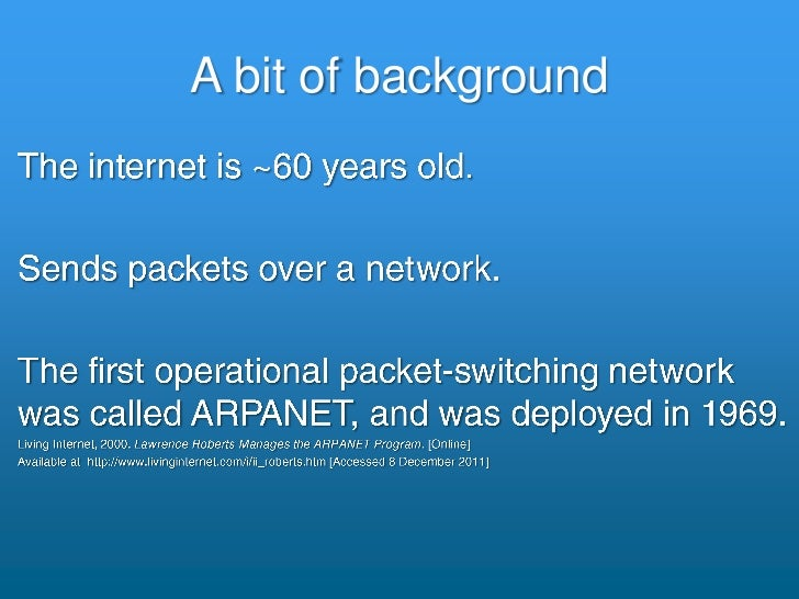 """The Internet"" [CATS 1] Slide 3"