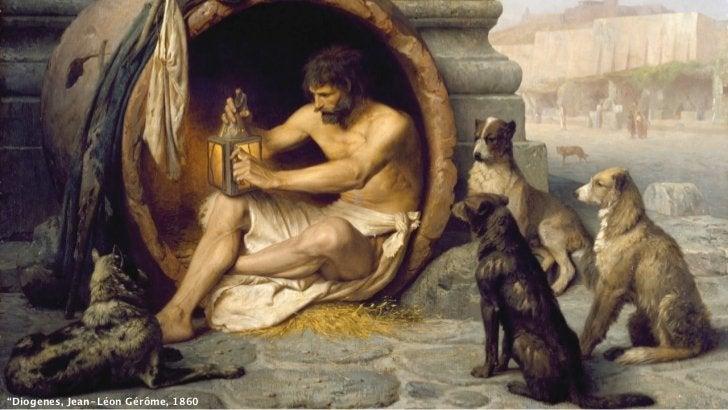 """""""Diogenes, Jean-Léon Gérôme, 1860"""