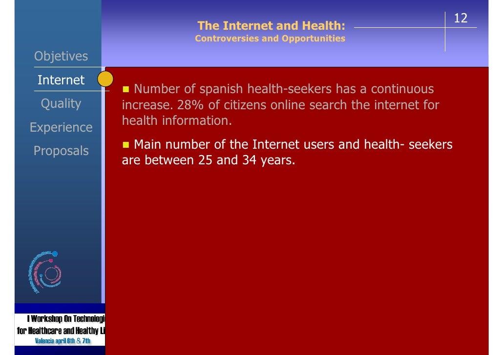 Illness and internet