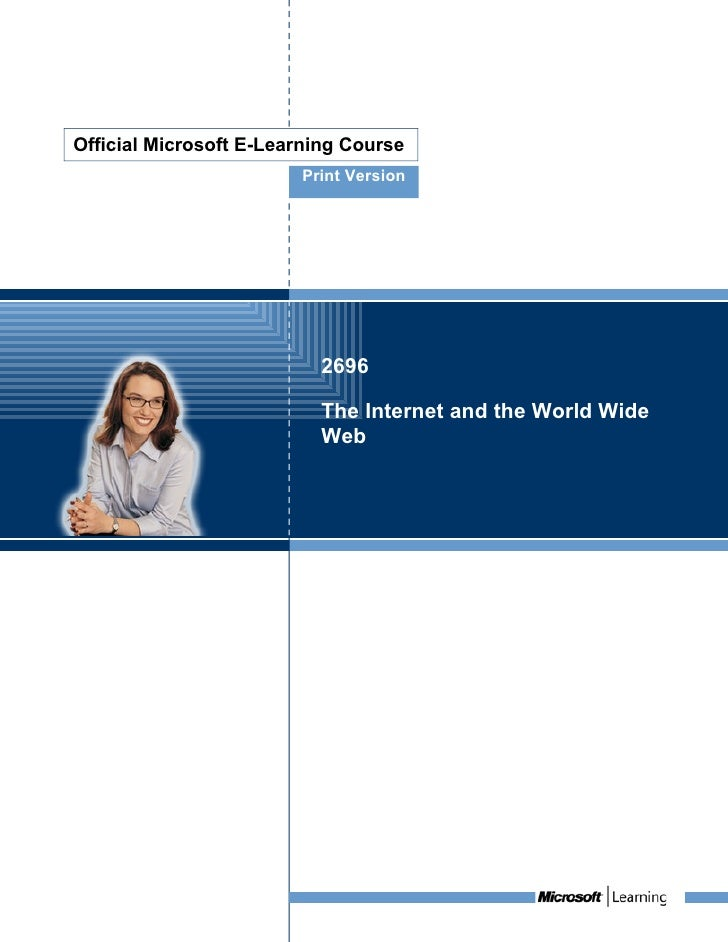 Official Microsoft E-Learning Course                         Print Version                               2696             ...