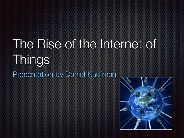 The Emergence of Internet