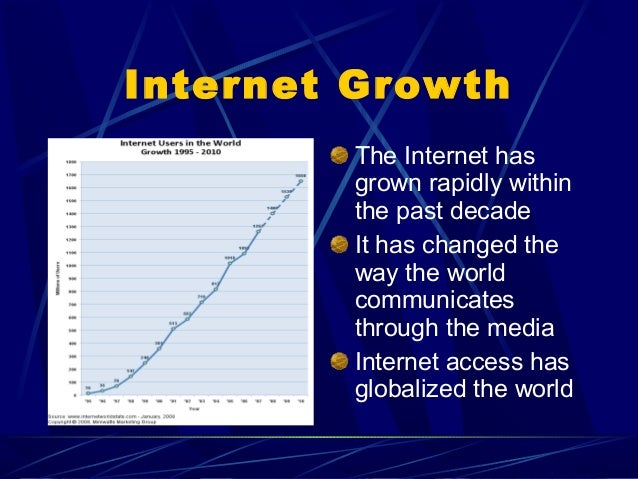 internet and its impact on society