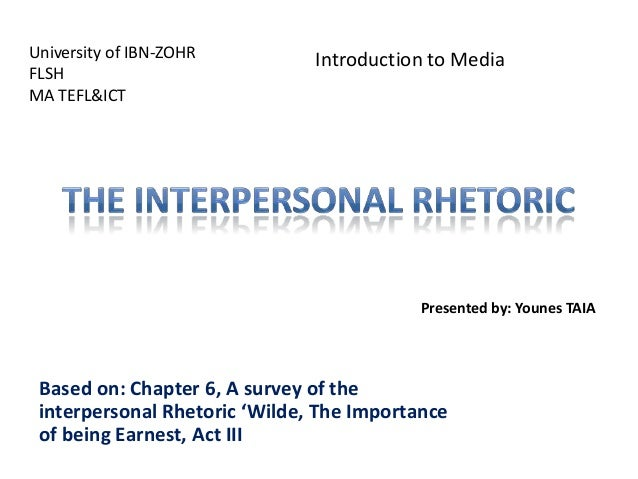 University of IBN-ZOHR FLSH MA TEFL&ICT  Introduction to Media  Presented by: Younes TAIA  Based on: Chapter 6, A survey o...