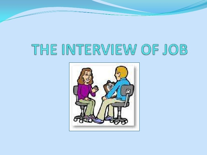 The interview of Job<br />