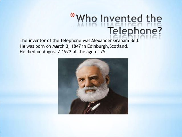 who in invented the telephone