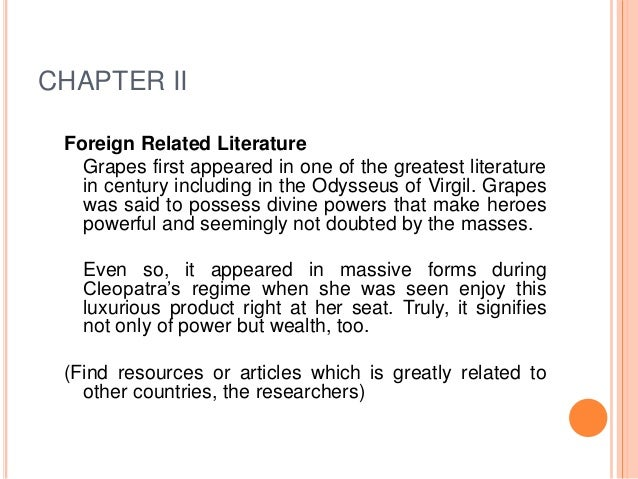 chapter ii related literature 76 chapter–ii review of related literature this chapter deals with the review of the literature it is an attempt to discover relevant material published earlier in the problem of study.