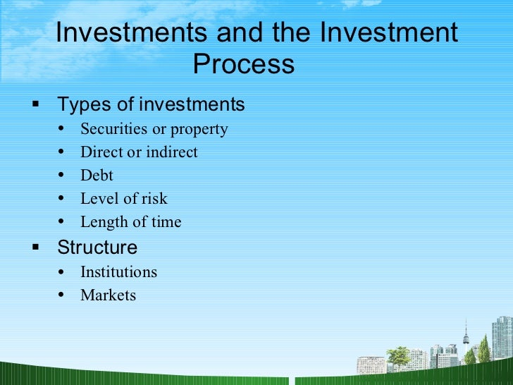 chapter 1 the investment environment Worksheets chapter 1 - the foundations of economics worksheet 11 the economics of zoo keeping | | powerpoint 11 zoolinomics – discussion questions and answers [ppt |] worksheet 12 the  chapter 28 - foreign investment aid, trade and debt (units 45, 46, 47.