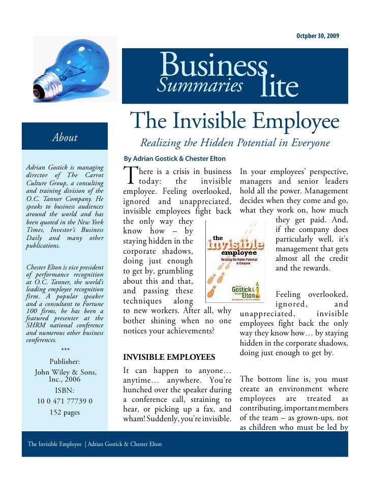 Octpber 30, 2009                                                         Business                                         ...