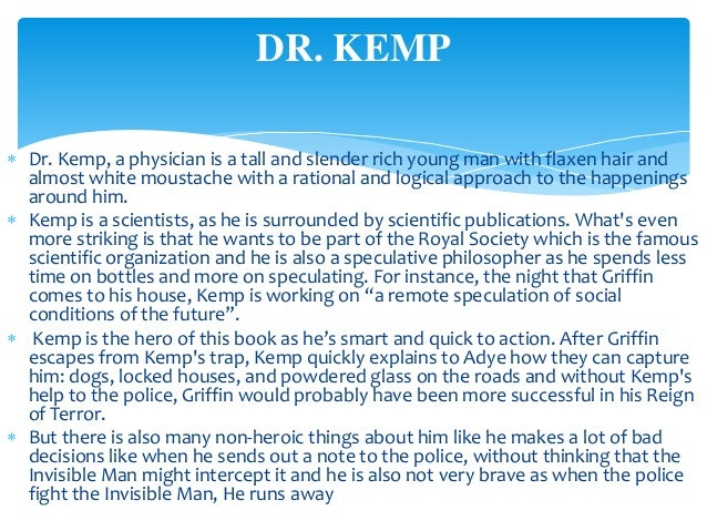invisible man character sketch Invisible man: theme analysis, free study guides and book notes including comprehensive chapter analysis, complete summary analysis, author biography information, character profiles, theme analysis, metaphor analysis, and top ten quotes on classic literature.