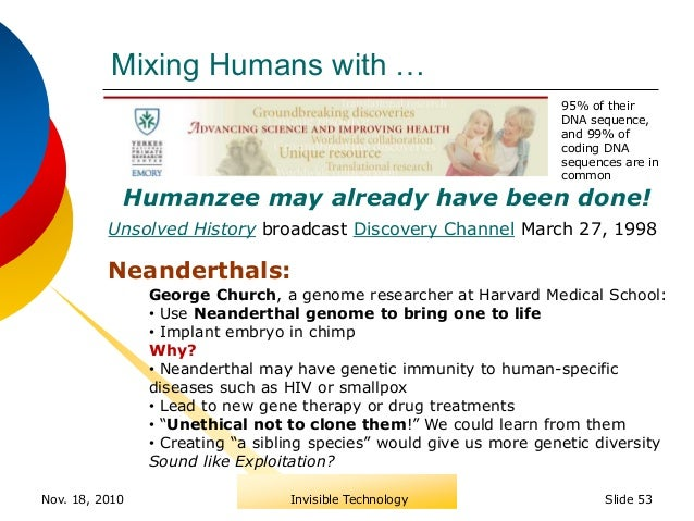 The invisible technology will nanotechnology transcend biology slide 52 backup slides 53 sciox Choice Image