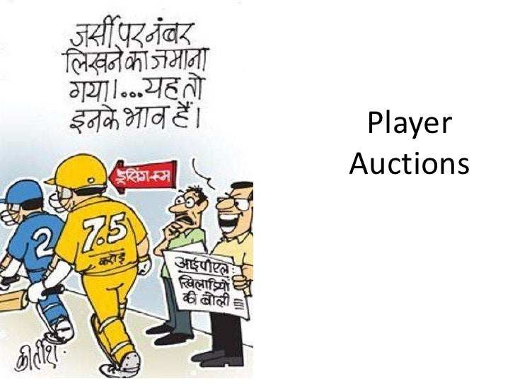 Player<br />Auctions<br />