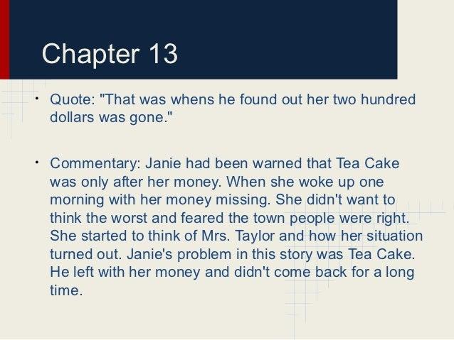 Janie Voice Tea Cake Quote