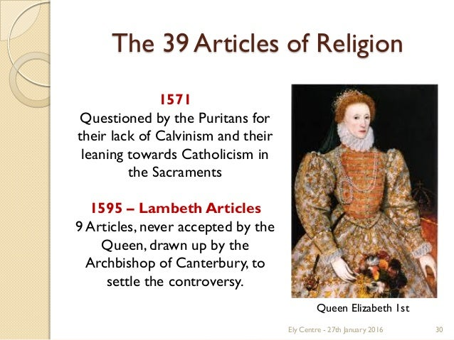 39 posts from religious beliefs 1571