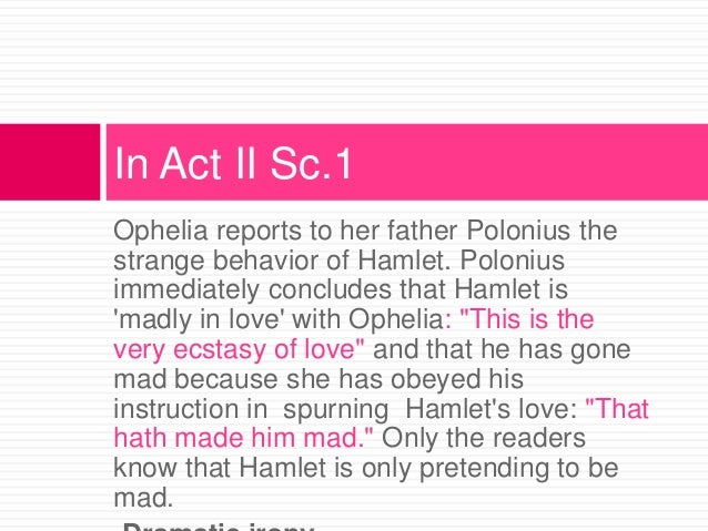 hamlet is not made essay The story of hamlet depicts the flaws of human nature vs actions of man hamlet did not use his intellect to decipher what made people do the things they do.