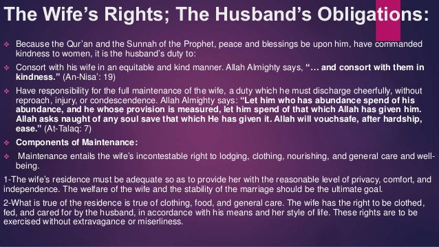 The islamic perspective on family and marriage