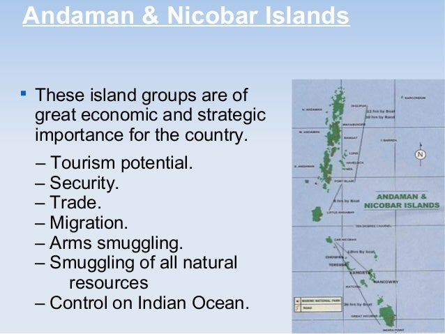 short note on island groups of india